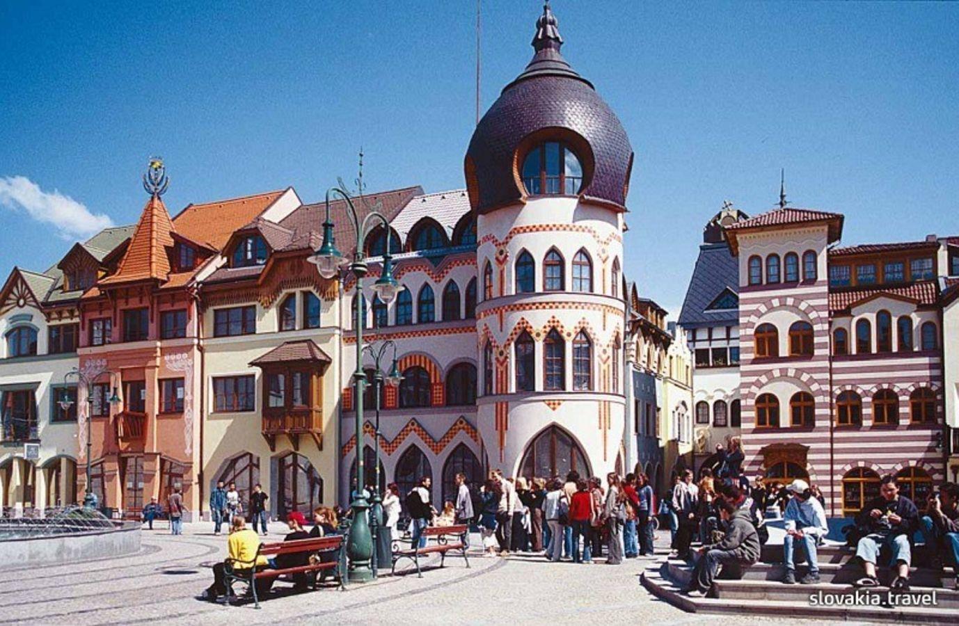 Europa Udvar Komaromban Slovakia Travel