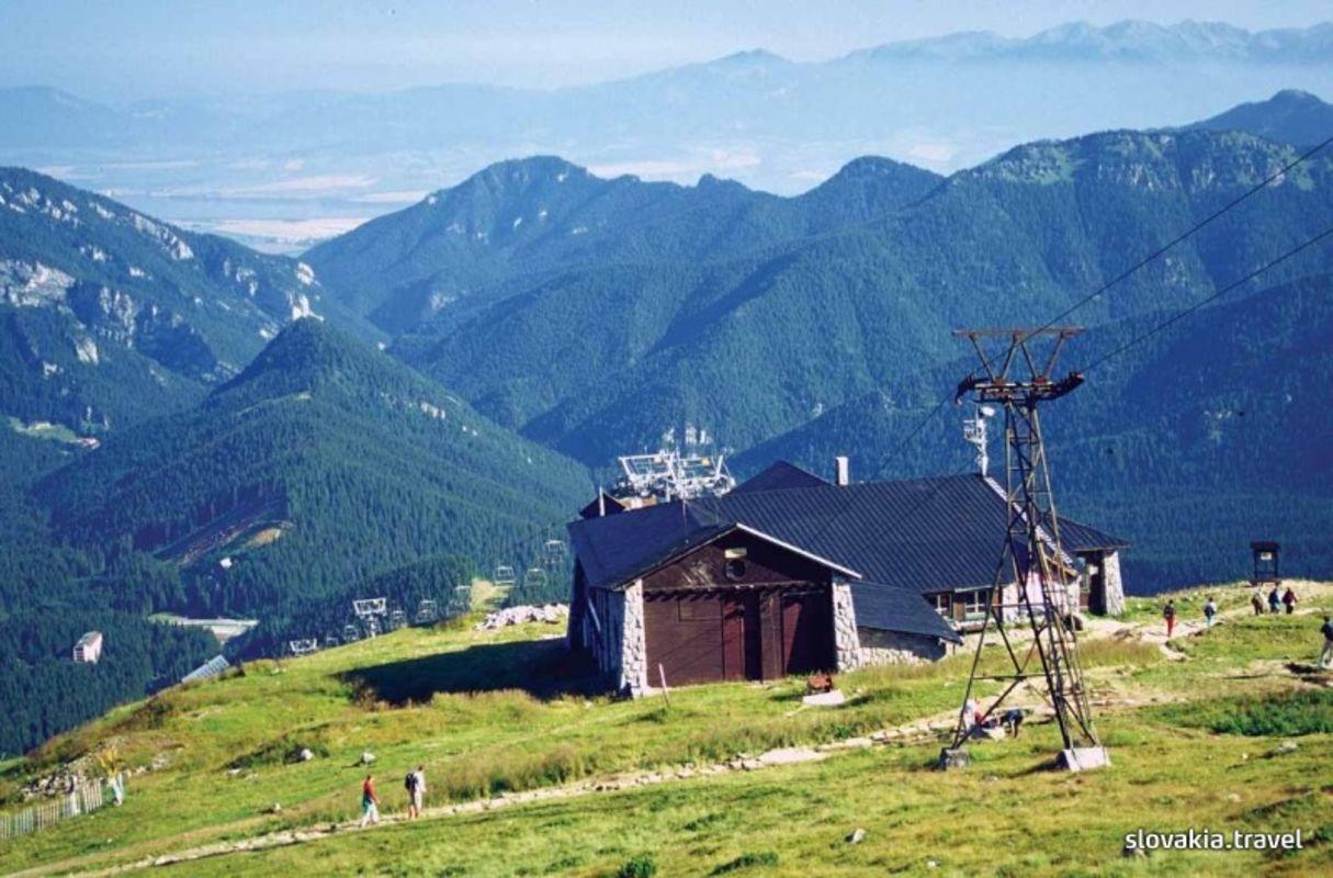 Trasą turystyczno – poznawczą doliną Demänovská dolina.